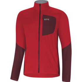 GORE WEAR C5 Windstopper Insulated Jacket Herre red/chestnut red